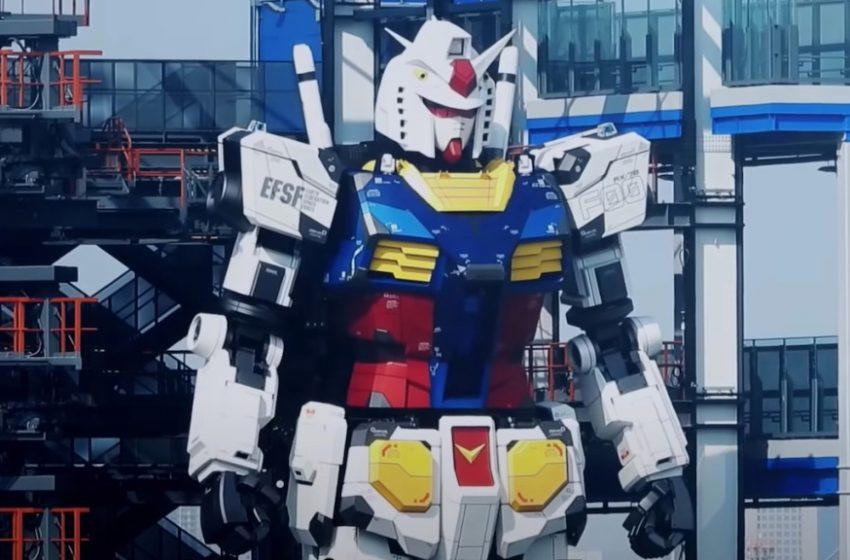 Robot Raksasa Gundam Akhirnya Bergerak