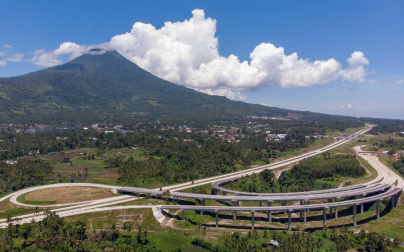 Jadi Jalan Tol Terpanjang di Sulut, Tol Manado-Bitung Telah Diresmikan Jokowi secara Virtual