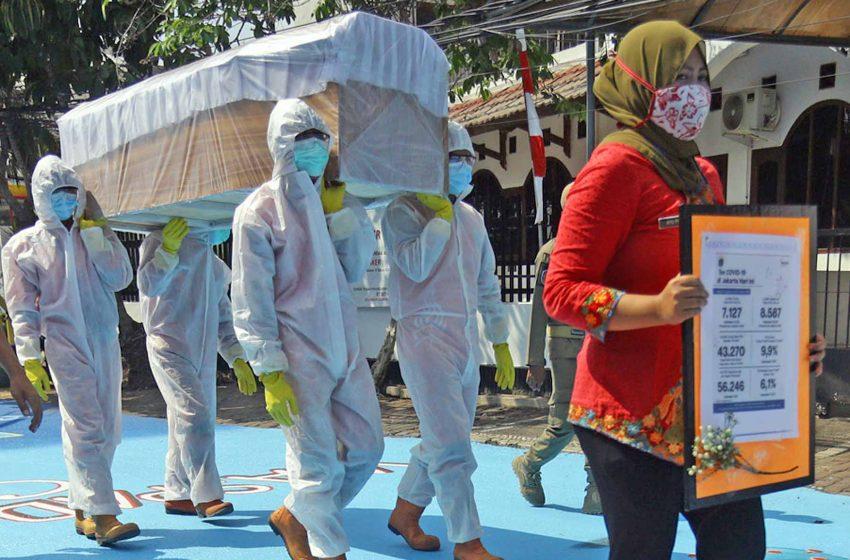 Kasus Covid-19 Tembus 303 Ribu, Jakarta Masih Sumbang Kasus Terbanyak