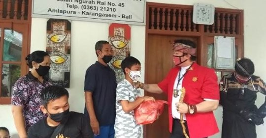 Pandemi, Eks Sekjen Laskar Bali Galang Aksi Sosial