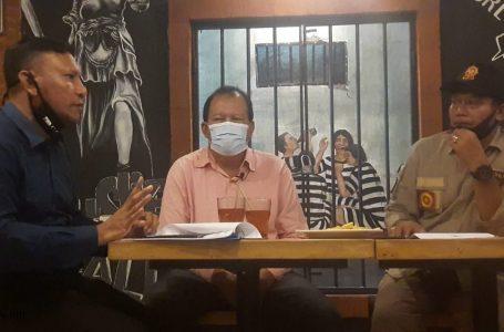 PANAS-Gendo,Mardika dan Dewa Anom Sayoga saling menyampaikan pandangannya terkait pemberlakuan PSBB.