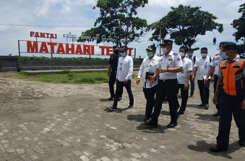Petugas Gabungan Perketat Pelabuhan Sanur