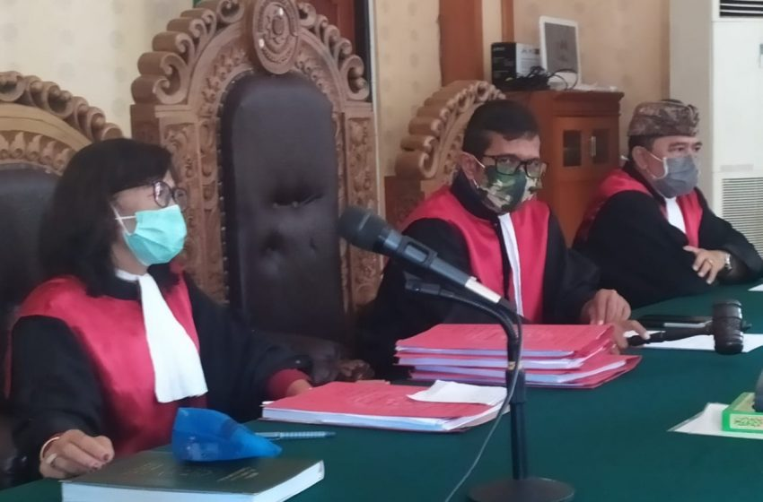 Simpan Dua Kresek Cimeng, Dipenjara 8 Tahun