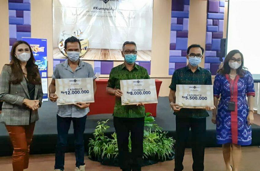 Ikut Tabungan Arisan MNC Bank Bali, Apapun Hadiahnya, Bisa!