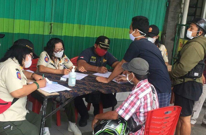 Pelanggar Prokes Kembali Marak,  28 Orang Terjaring