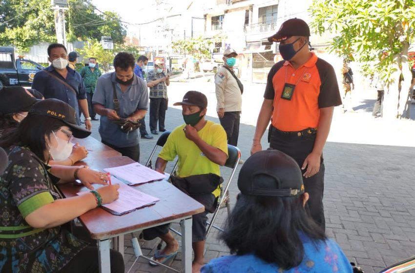 Razia Prokes Simpang Barito, 21 orang Terjaring