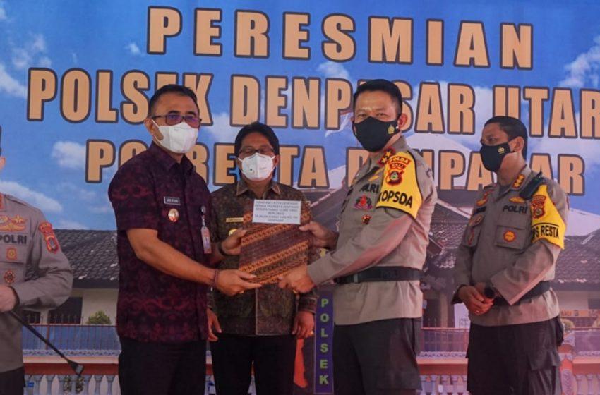 Sah, Denpasar Utara Miliki Polsek Sendiri