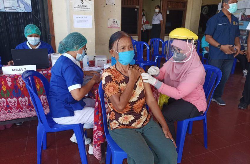 Data Terbaru, Vaksinasi di Denpasar Mencapai  174.643 Orang