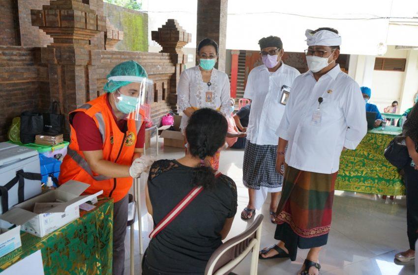 Vaksinasi Zona Hijau di Sanur Hingga 4 April