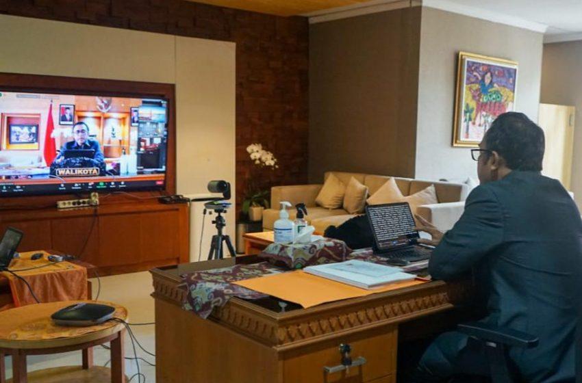 LKPJ, Walikota Sebut Dana Penanganan Covid Sebesar  126 Miliar Lebih