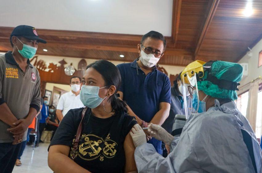 Jemput Bola, Trik Pemkot Optimalkan Vaksinasi
