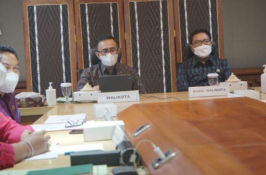 Walikota Jaya Negara Ajak Wujudkan Denpasar MANJUR