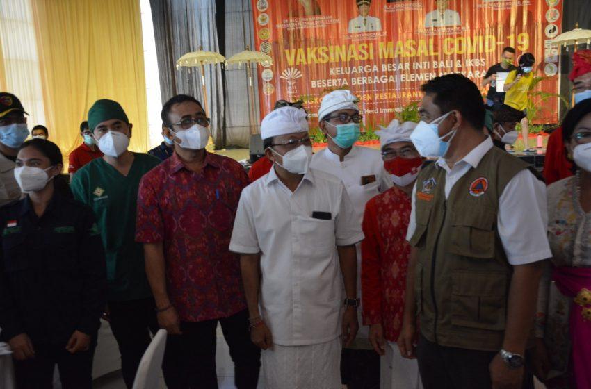Peserta Mencapai 3 Ribu, Vaksinasi Covid-19 INTI Bali dan IKBS Raih Rekor Muri