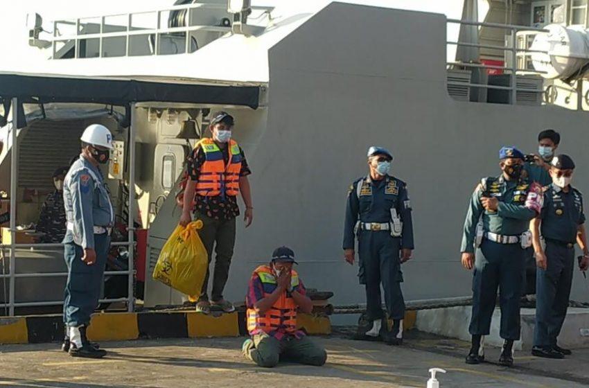 Selamat, ABK KM Bandar Nelayan Dipulangkan