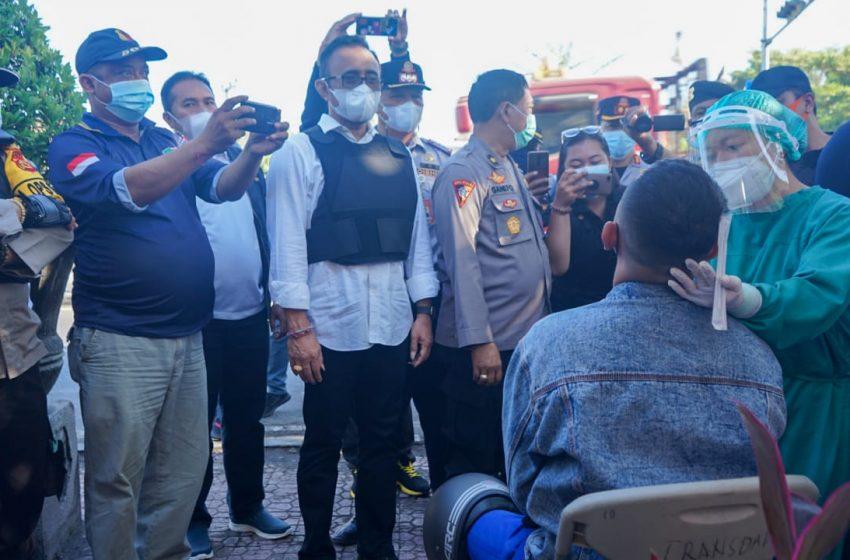 Walikota Jaya Negara Sebut Mobilitas Penduduk Turun 50 Persen