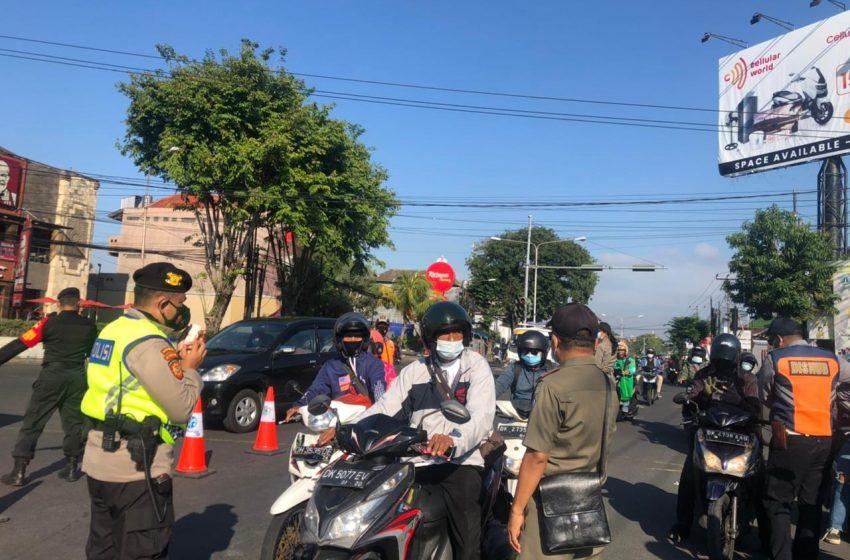 Hendak ke Denpasar, 63 Orang Diputar Balik