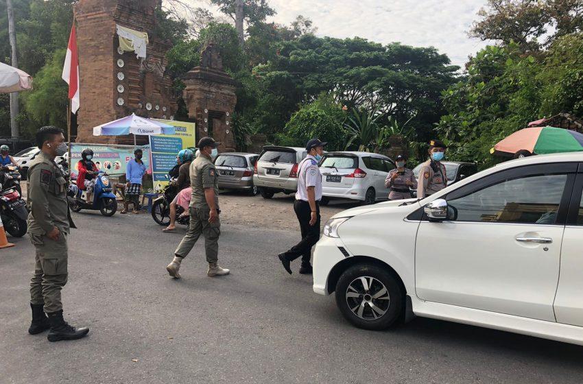 Tim Yustisi Denpasar Awasi Prokes Obyek Wisata